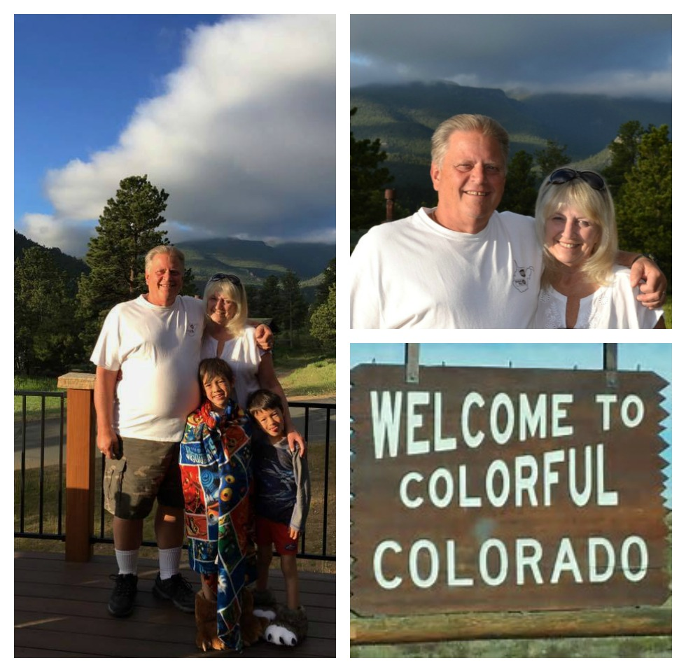 Memories of a cross country road trip to see my grandsons this summer.