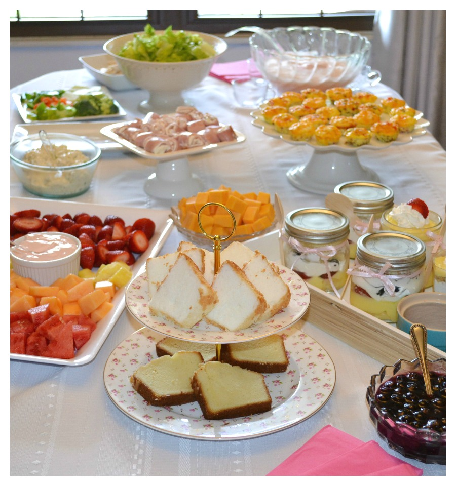 Sharing some ideas for a light, gluten free ladies luncheon.