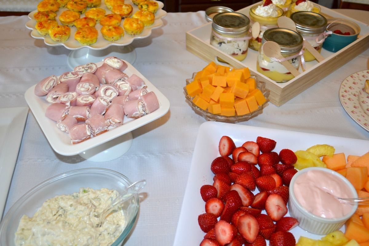 gluten free ladies luncheon - grandma honey's house