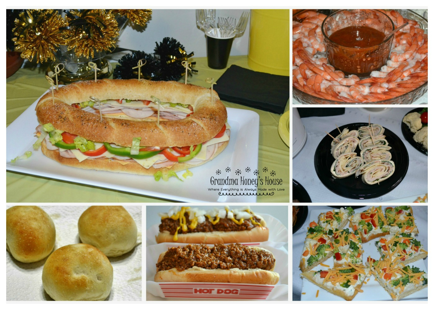A great variety of Game Day Snacks for any football week-end.