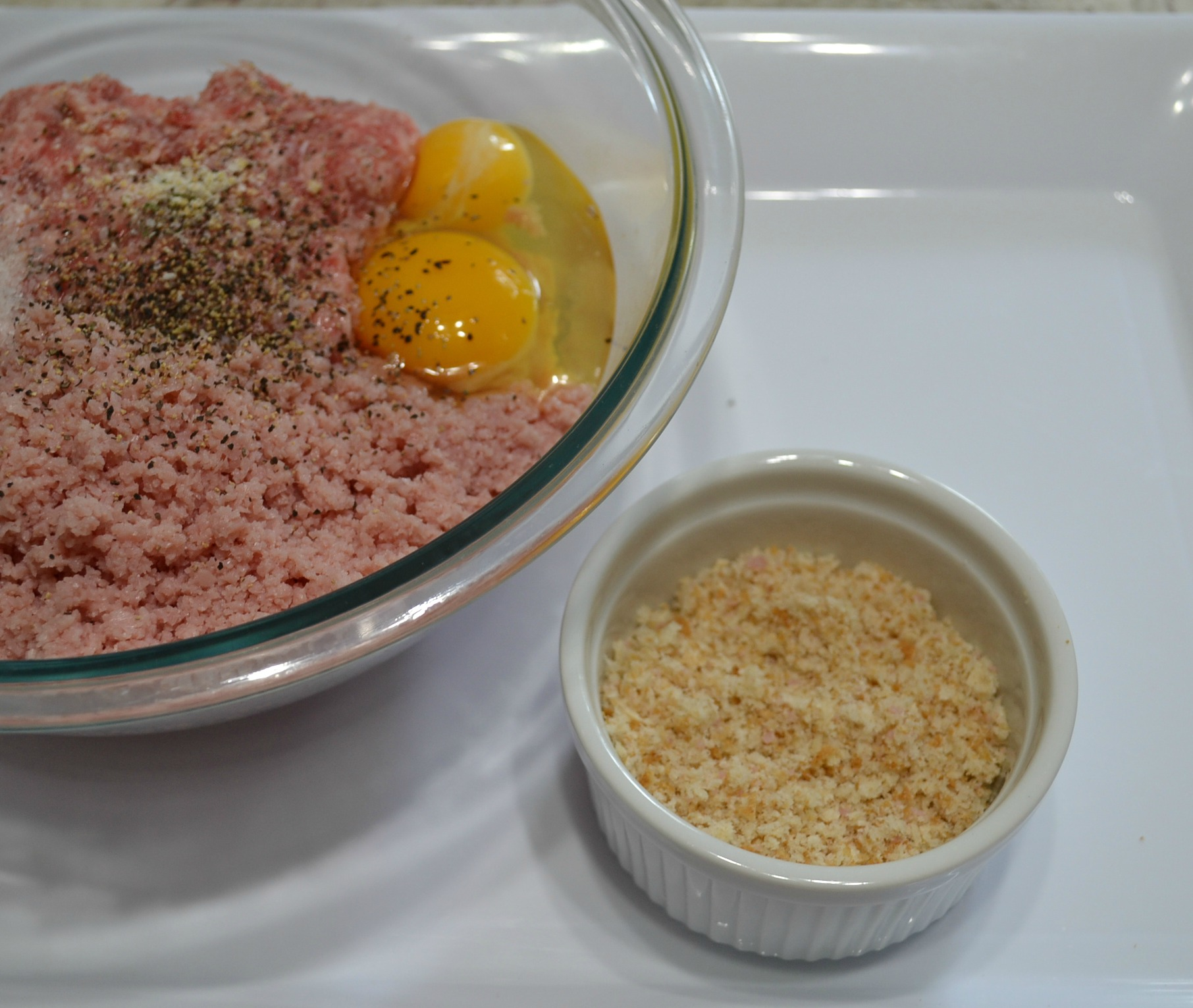 Sharing this Ham Loaf recipe is like sharing an old fashioned comfort meal with you. Made like a meatloaf but with ham and ground pork.