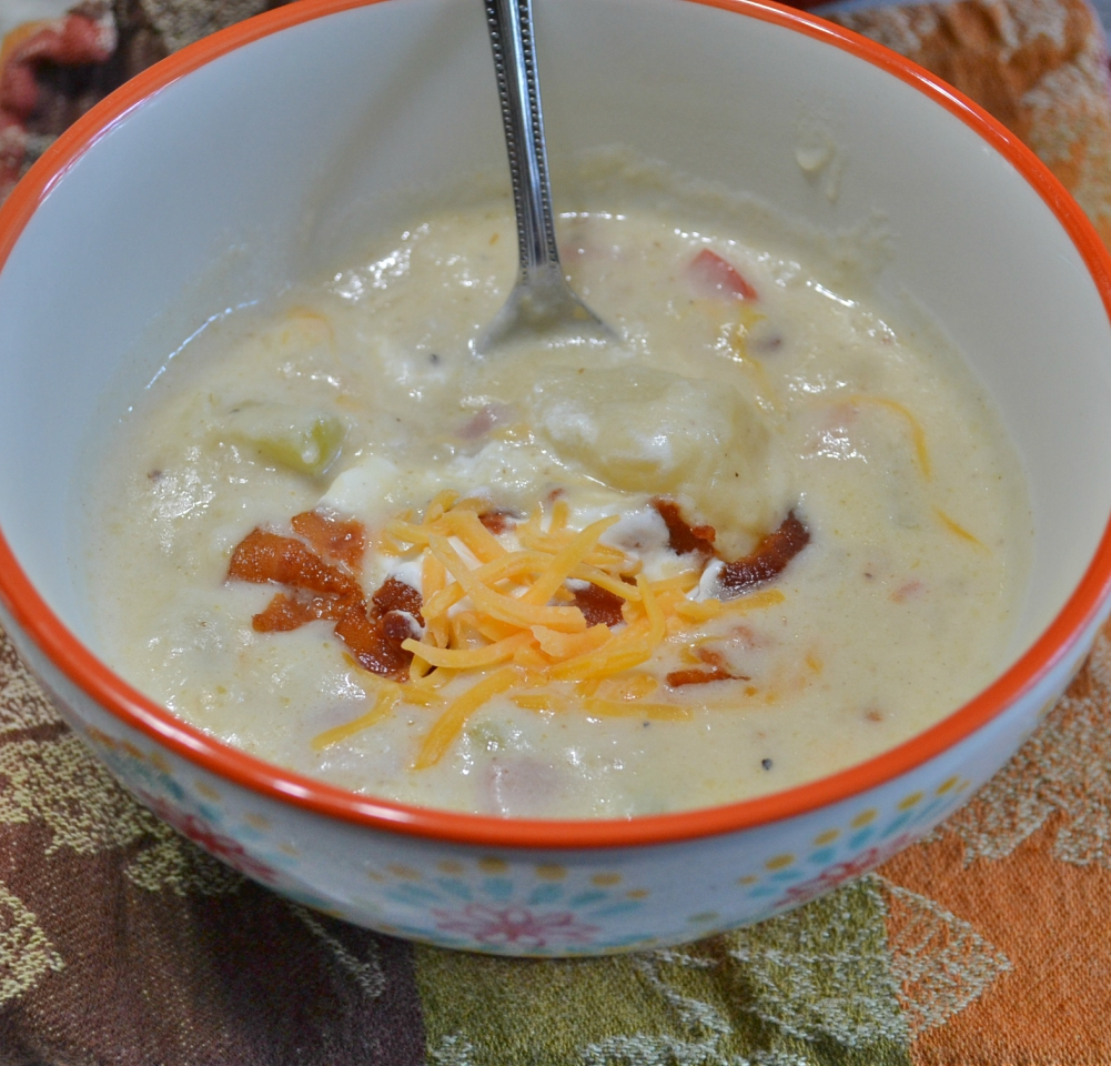 Potato Soup recipes to warm you on a cool fall day.