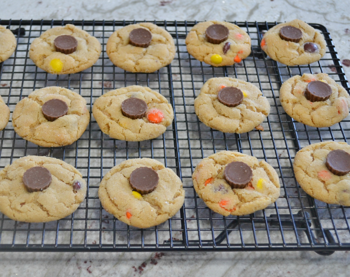 Triple Peanut Butter Cookie Delights are loaded with 3 levels of peanut butter