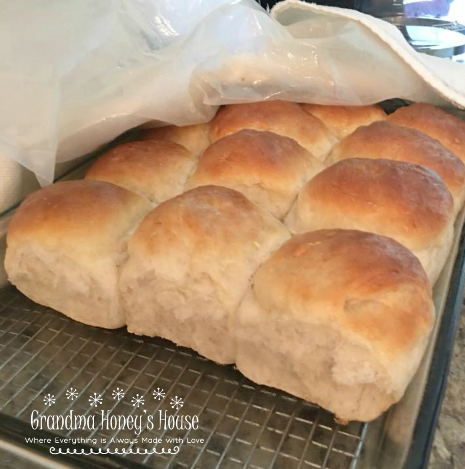 Sam's Homemade Hot Rolls are an old family recipe that makes the best hot rolls ever.