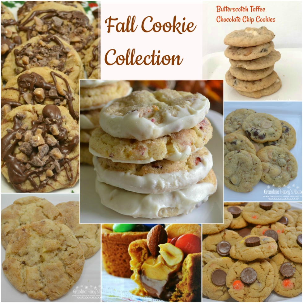This Fall Cookie Collection is loaded with the flavors and colors of fall