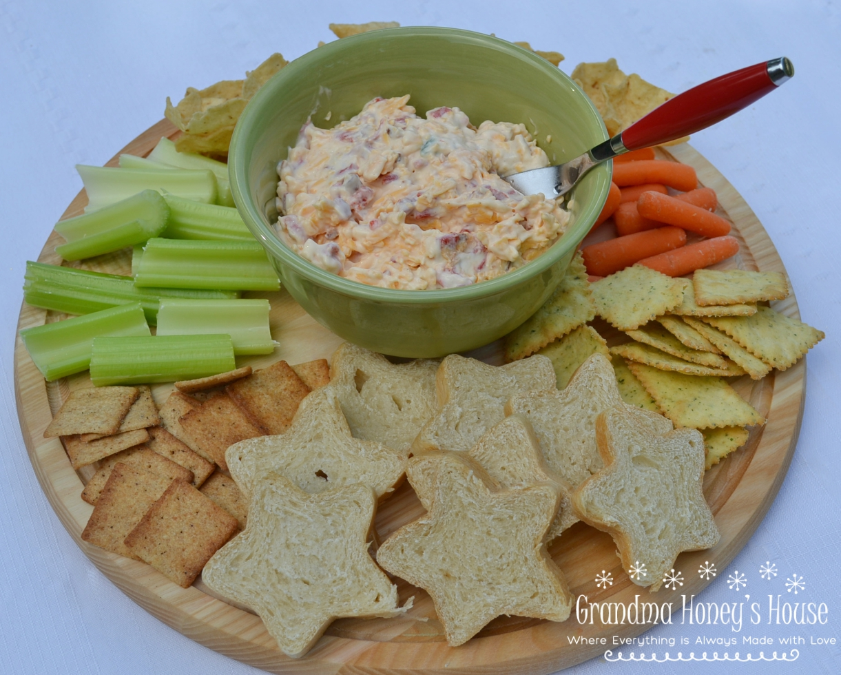 This Spicy Pimento Cheese-Bacon Spread is a basic recipe to use from appetizer to burgers.