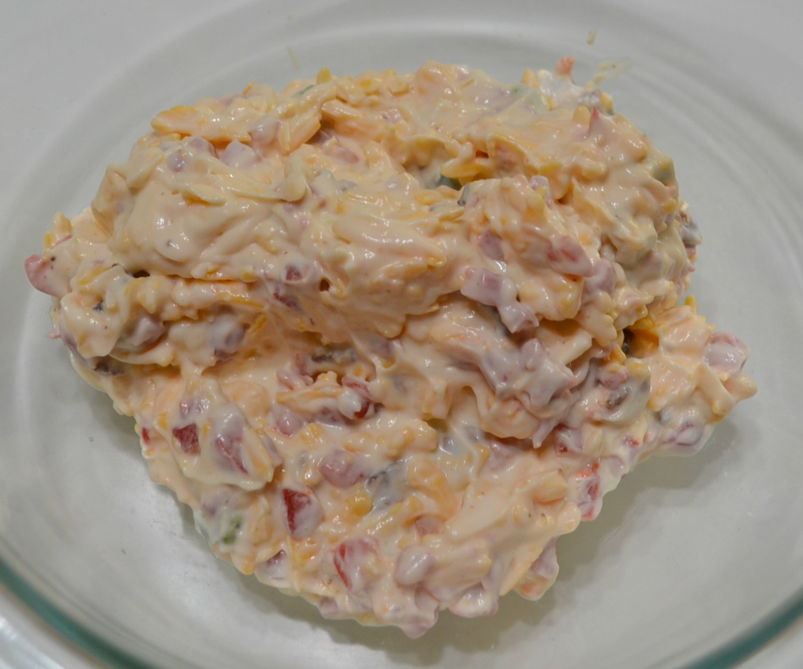 This Spicy Pimento Cheese-Bacon Spread is a basic recipe to use from appetizer to burgers