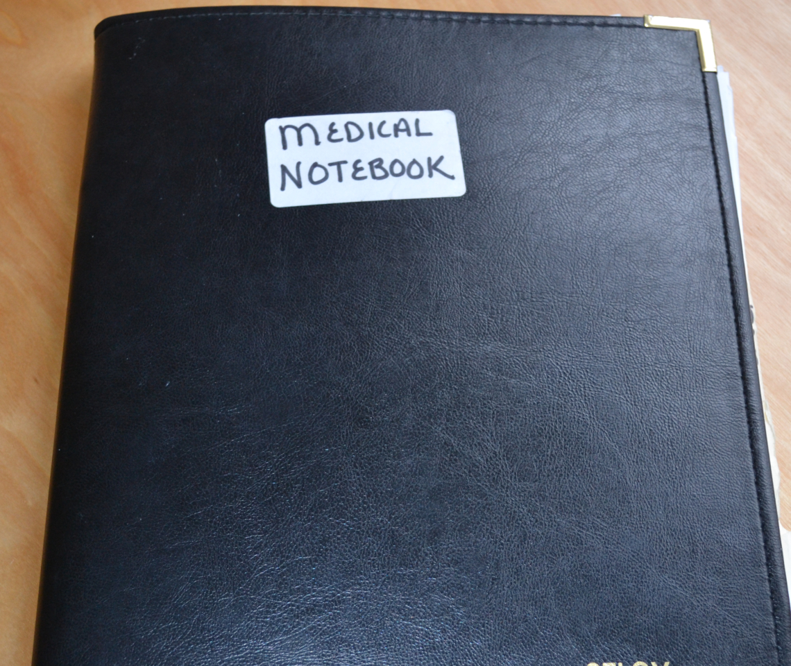 Create and Maintain a Family Medical Notebook to make medical care more efficient.