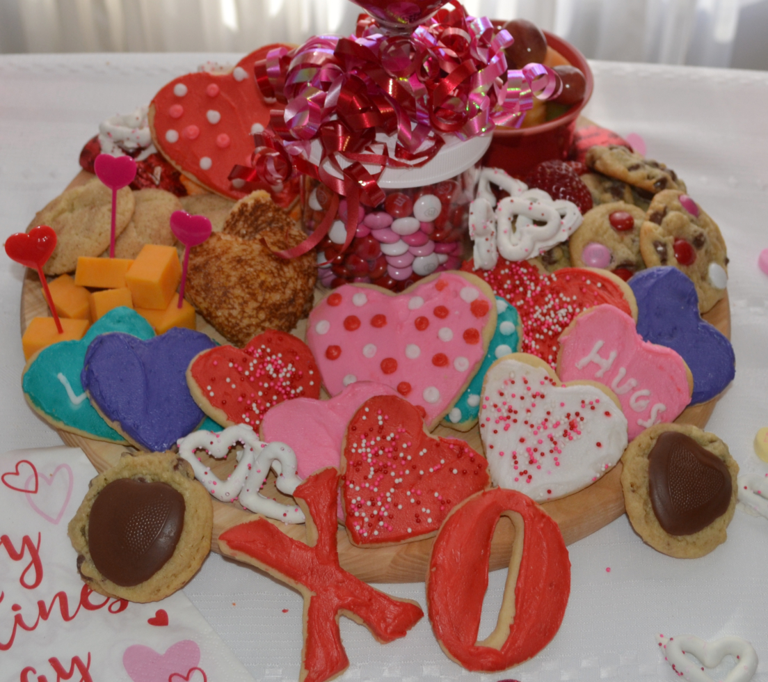 This Valentine's Day Treat Board is filled with sweet and savory treats. Perfect for any party