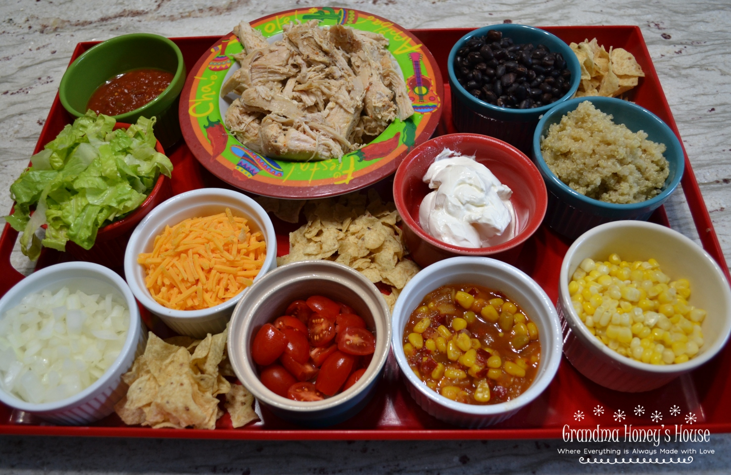 Easy Meals Served on a Board are all the rage. They are colorful and creative. Loaded with fruits,veggies,protein, and other goodies.