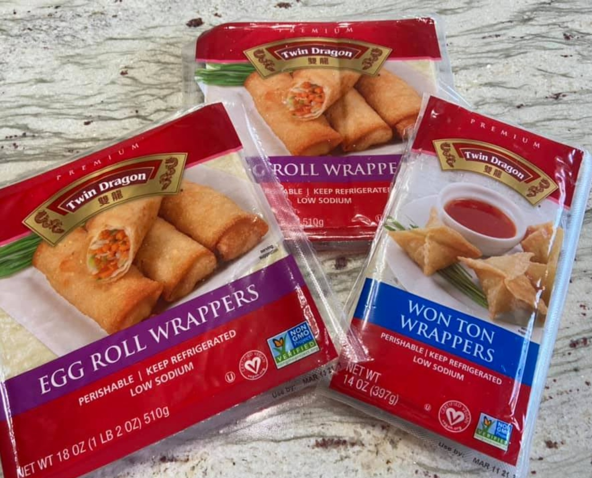 Twin Dragon Wonton and Egg Roll Wrappers